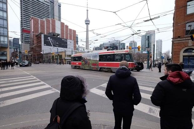 Toronto King-Spadina Intersection