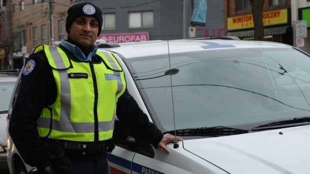 Nigel Fernandes has been a parking officer for some nine years. During that time, he says he's experienced everything from obscenities hurled at him, racial remarks and he once had a woman drive over his foot.