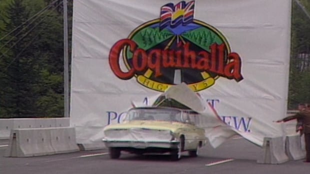 The opening of B.C.'s Coquihalla Highway in 1986 brought a lot of anticipation with it — and millions of dollars in cost overruns.