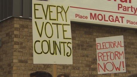 Electoral reform rally