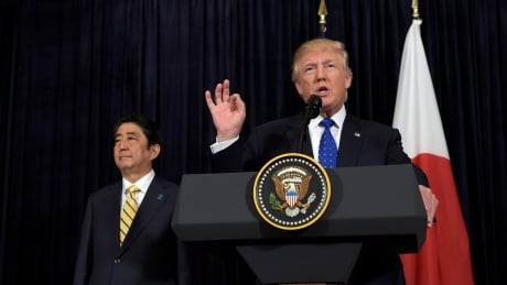 APTOPIX Trump US Japan