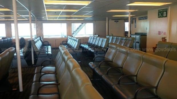B.C. Ferries Queen of Burnaby Seating