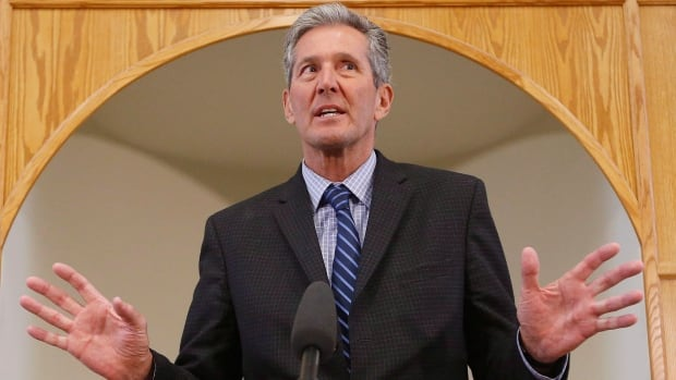 Manitoba Premier Brian Pallister responds to questions about his time spent in Costa Rica.