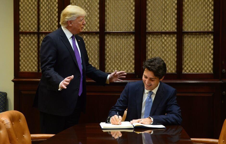 Trudeau Trump 20170213