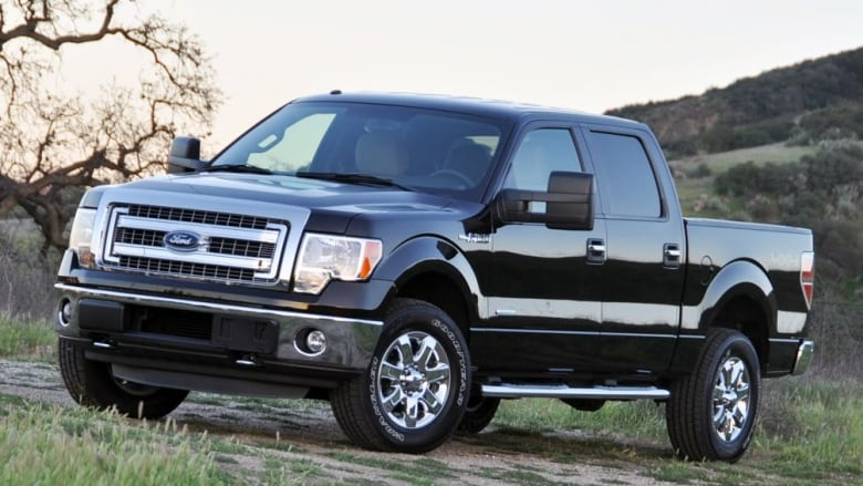 An Electric Ford F 150 Truck Its A Sign Of The Times Cbc