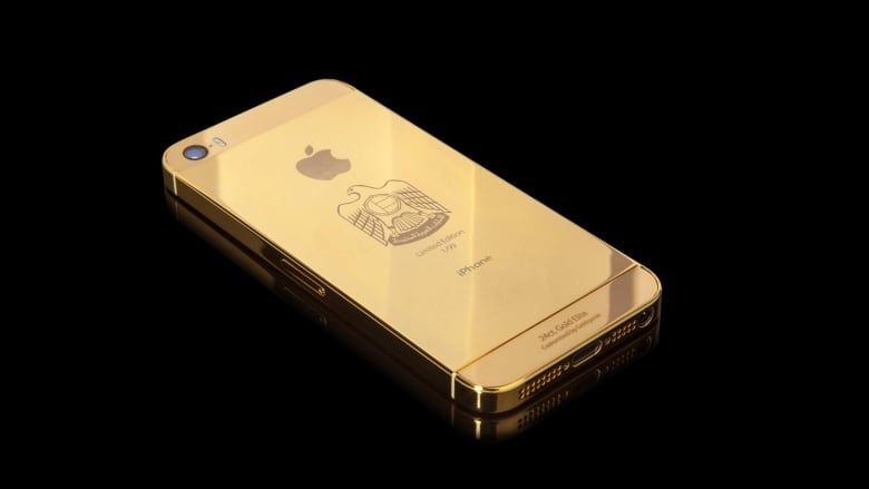 the best attitude 2cdbc c176b Police looking for owner of iPhone 6 and 24-karat gold case found in ...