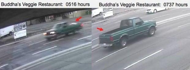 Garland green truck box