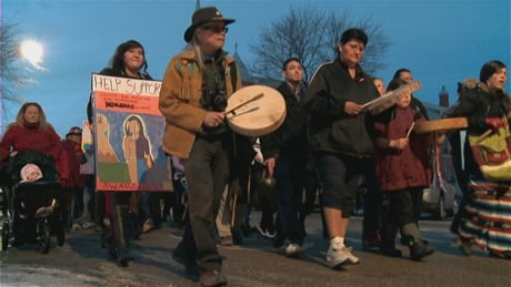 March for missing and murdered women takes place tonight