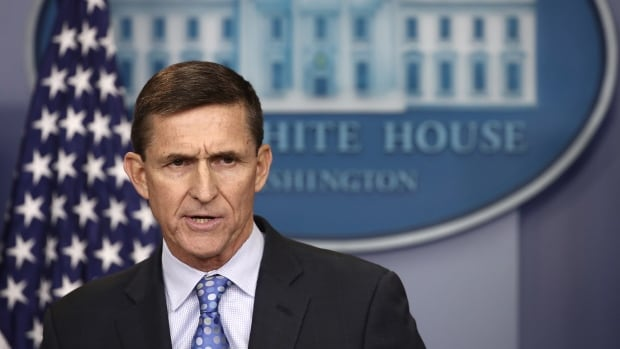 National Security Adviser Michael Flynn, in his resignation letter, said he held numerous calls with the Russian ambassador to the U.S. during the transition and gave 'incomplete information' about those discussions to Vice-President Mike Pence.