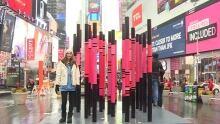 Times Square Sculpture