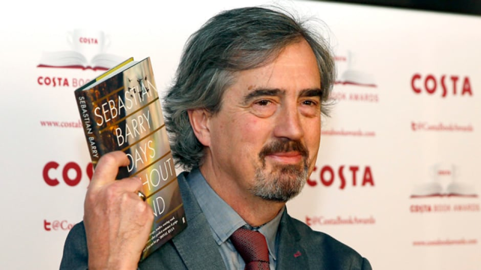 Sebastian Barry is the first-ever novelist to win the Costa Book of the Year award two times.