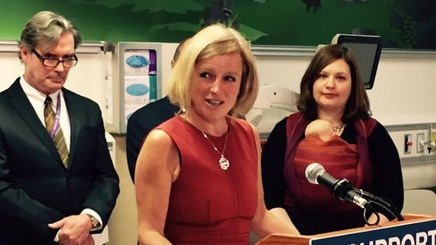 Alberta Premier Rachel Notley received hundreds of online threats in 2016.