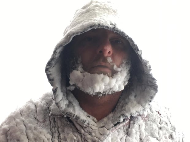 Snowstorm beard