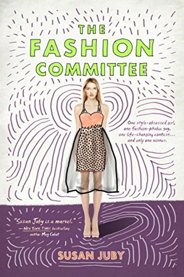 Book Cover Of Fashion ~ The fashion committee cbc books