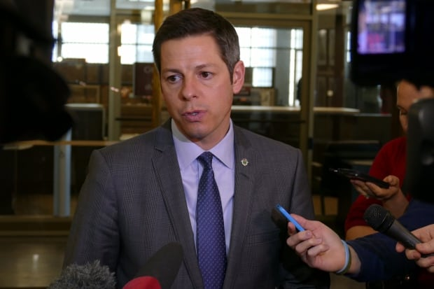 Winnipeg Mayor Brian Bowman talks about