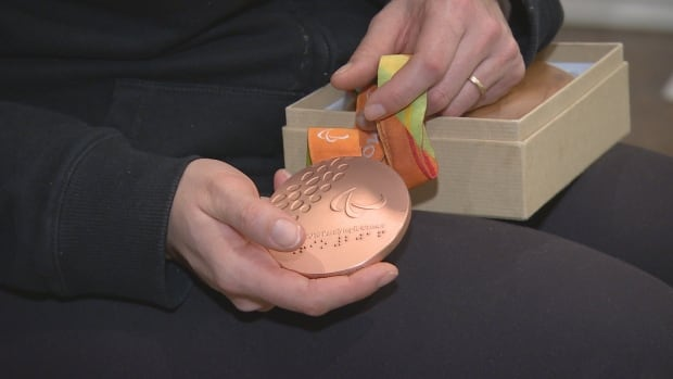Victoria Nolan olympic medal