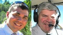 Jeffrey Bird and Reynold Johnson pilots MRU