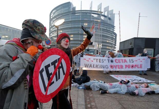 EU-CANADA/CETA-PROTEST