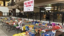 Fill the Pit Food Drive