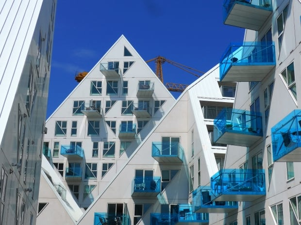Iceberg apartment Denmark