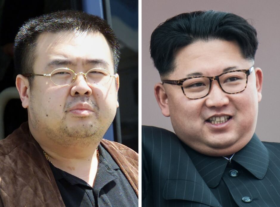 Kim Jong-Nam Kim Jong-Il composite