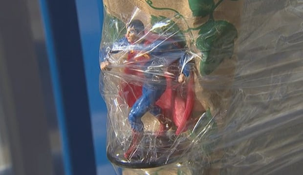 Superman figurine