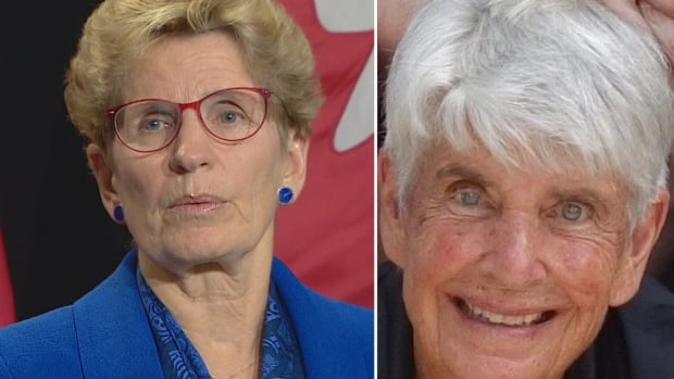 When asked if Nancy Elgie should resign as trustee, Premier Kathleen Wynne said there's 'a lot of pressure on this individual.'