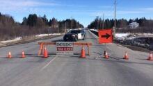 Highway 102 Closed