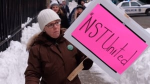 nova scotia teachers protest