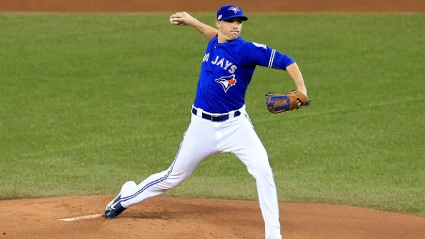 Toronto Blue Jays pitcher Aaron Sanchez is ready to lead the team's rotation heading into spring training camp.