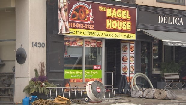 The Bagel House fire damage