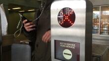 Presto card machine red x broken