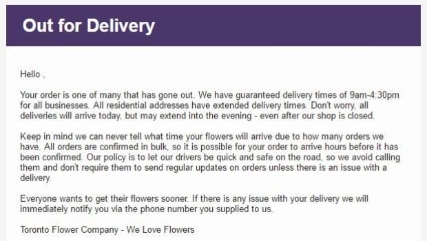 Toronto Flower Company
