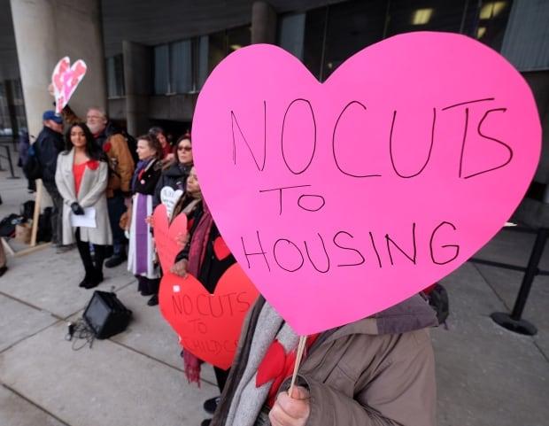 Toronto City Hall Protest 'No Cuts'