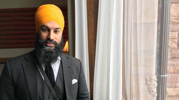 Jagmeet Singh, deputy leader of Ontario's NDP party, announced Monday, May 15, 2017, that he is seeking the leadership of the federal NDP.