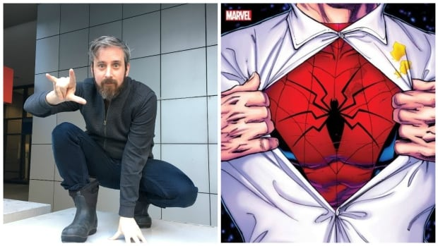 "Steve Murray, who goes by Chip Zdarsky when writing comic books, will take on an iconic superhero in this June's ""Peter Parker: The Spectacular Spider-Man."""