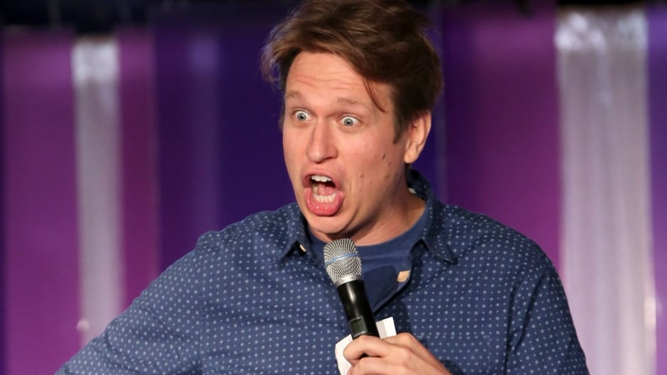 Comedian Pete Holmes' new HBO show Crashing premieres on Feb. 19, 2017.