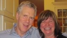 Stuart McLean and Shelagh Rogers