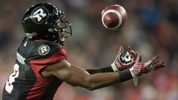 Free-agent receiver Ernest Jackson has signed on with the Alouettes after catching 88 passes for 1,225 receiving yards and 10 touchdowns last season for Grey Cup champion Ottawa.