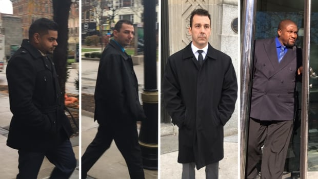 A verdict is expected Friday in the trial of Hamilton police constables Bhupesh Gulati, Shawn Smith, Stephen Travale and Dan Williams.