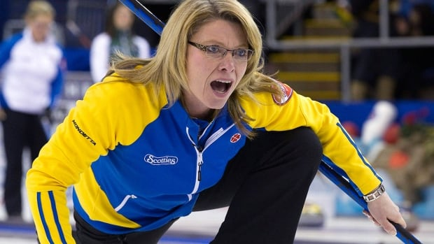 Veteran skip Shannon Kleibrink will try to win her first Scotties Tournament of Hearts in five attempts, starting Saturday in St. Catharines, Ont. The 2006 Olympic bronze medallist is making her first Scotties appearance in six years after beating Val Sweeting to win the Alberta Scotties last month.