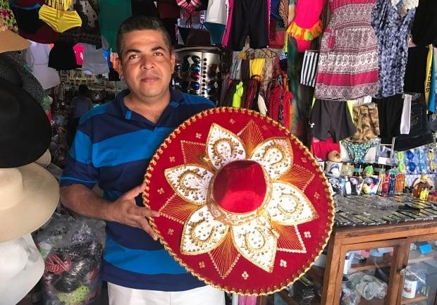Acapulco beach vendor