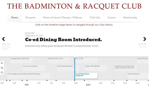 The Badminton & Racquet Club