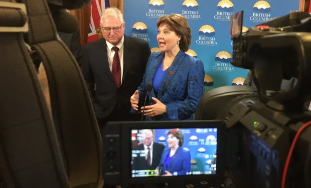 David Emerson and Christy Clark