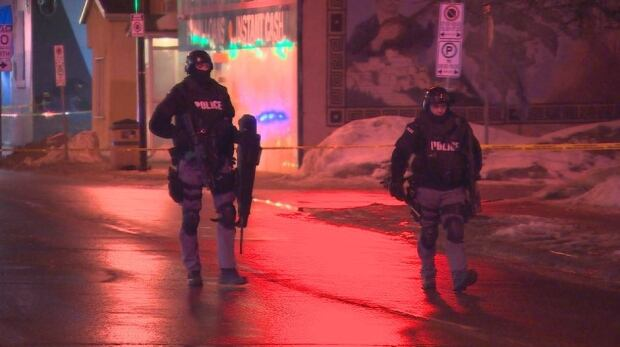 winnipeg police armed