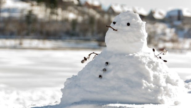 Did you make a snowman? Well, it's likely going to get pretty saggy this weekend and next week.