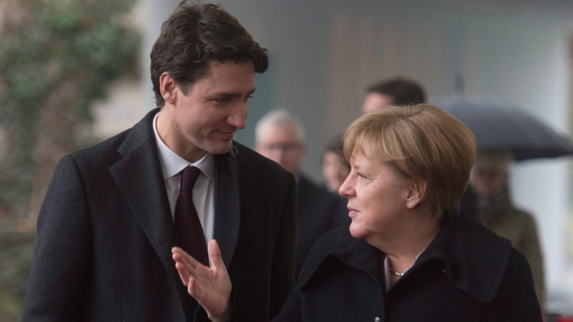 NATO spending and trade on agenda for Trudeau/Merkel talks in Germany