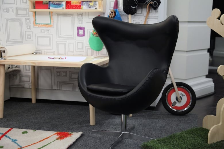 Mini Designer Furniture Bean Bags You Dont Need To Sacrifice Style When It Comes Kids This Egg Chair From At Home May Be Small