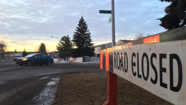An elderly woman was hit and killed by a vehicle Thursday night near 55th Street and 146th Avenue in Edmonton's Casselman neighbourhood.