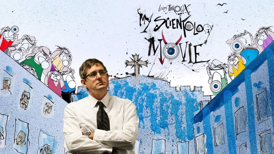 Louis Theroux's latest documentary film, My Scientology Movie, is a deep dive into the strange world of Scientology. (KinoSmith)
